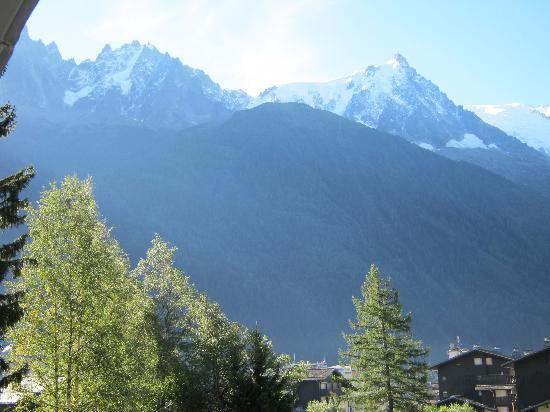 La Sapiniere: View from our balcony
