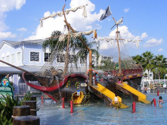 Pirate Ship Picture Of Marriott S Harbour Lake Orlando