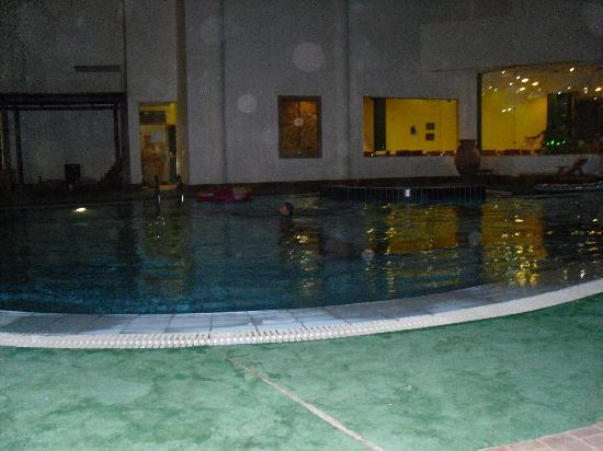 Late night swim in hotel pool lovely picture of sharm elysee resort sharm el sheikh for Late night swimming pools london