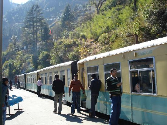 Shimla, India: UNESCO World Heritage Toy Train &quot;Himalayan Queen&quot;