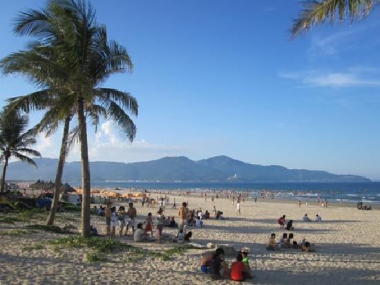 Da Nang, Vietnam: Me Khe Beach, Danang City