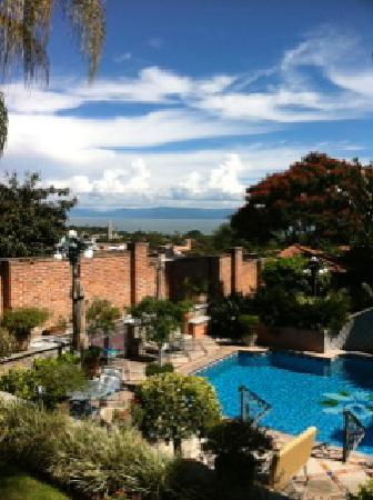 Casa Tres Leones: Perfect views from the veranda
