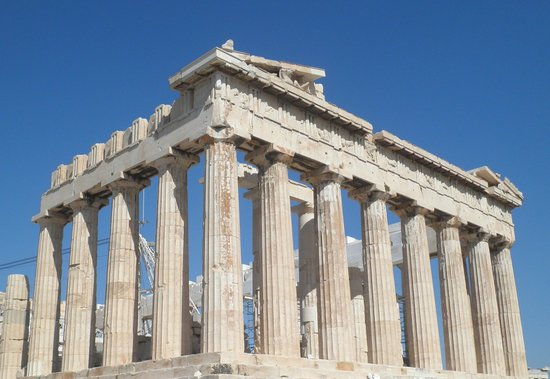 The Parthenon  Acropolis  Athens  Picture Of George39s Taxi  Private T