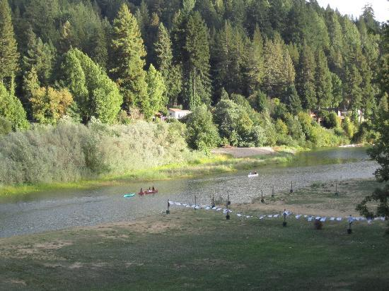 Balalaika Guest Homes: Russian River from Nearby Restaurant