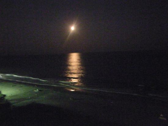 Myrtle Beach, SC: Moonlit evening