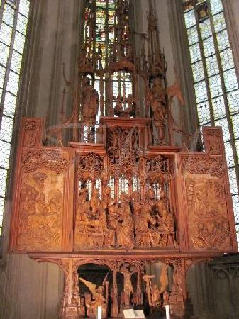 heilig blut altar picture of rothenburg middle franconia tripadvisor. Black Bedroom Furniture Sets. Home Design Ideas