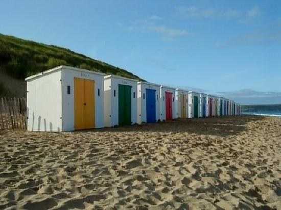 Woolacombe, UK: Beach huts