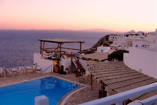 Chora, Grecia: sunrise