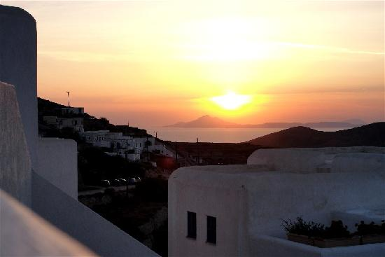 Chora, Grecia: sunrise from my room