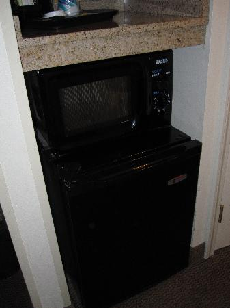 Wingate by Wyndham Missoula MT: Bar fridge and microwave