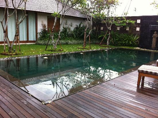 The Akasha Villas: photos don't do the pool justice really
