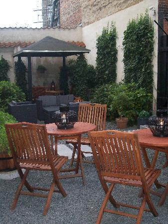 Bertrams Hotel Guldsmeden, Copenhagen: The beautiful courtyard