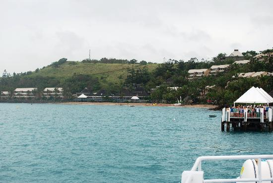 Lindeman Island, Australien: Leaving Club Med