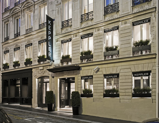 Exterior View - Hotel Keppler, Paris, France