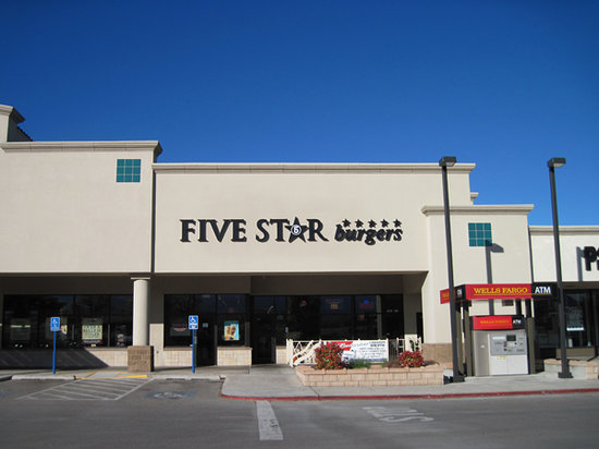 Outside picture of 5 star burgers albuquerque tripadvisor for 5 star restaurant exterior