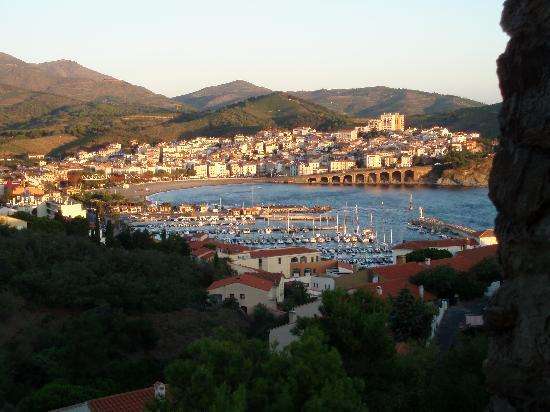 Banyuls-sur-mer, France : view from our room