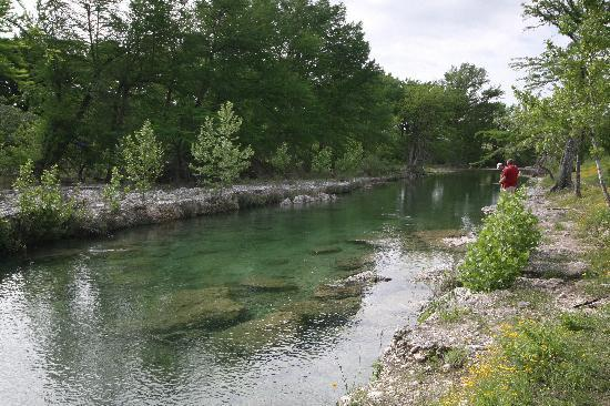 Concan, TX: View of the river