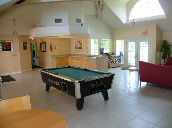 Lake Monroe, Floryda: Inside clubhouse