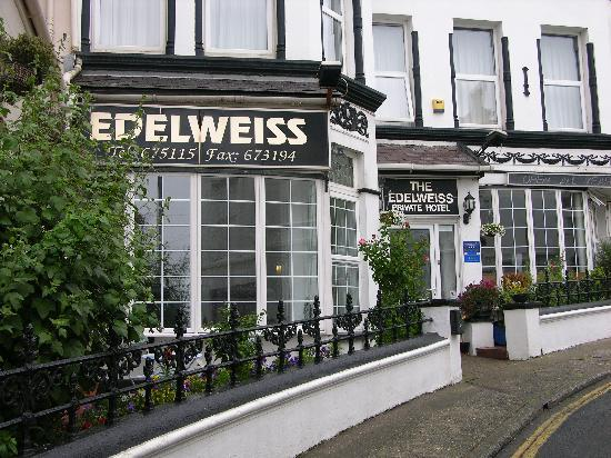 The Edelweiss Guest House: The Edeweiss front