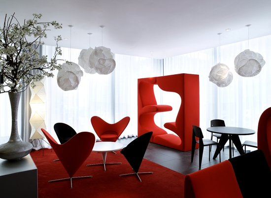 citizenM Glasgow: Living Room
