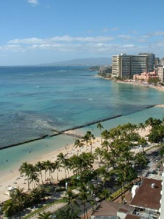 Aston Waikiki Beach Hotel: lovely waikiki from 23rd story