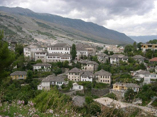 Gjirokaster, Albania: View of the city