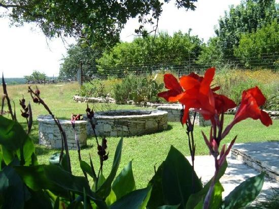 Paniolo Ranch Bed & Breakfast: The fire pit