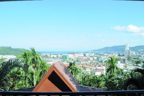 Patong Cottage Resort: View from our room