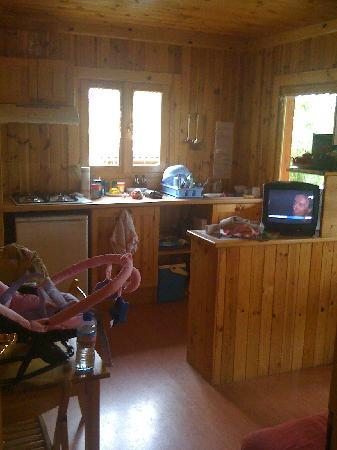 int rieur chalet picture of camping le montant sarlat. Black Bedroom Furniture Sets. Home Design Ideas