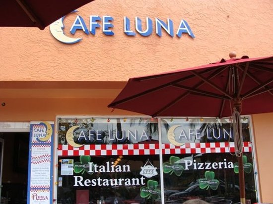 Cafe Luna Menu Naples Fl