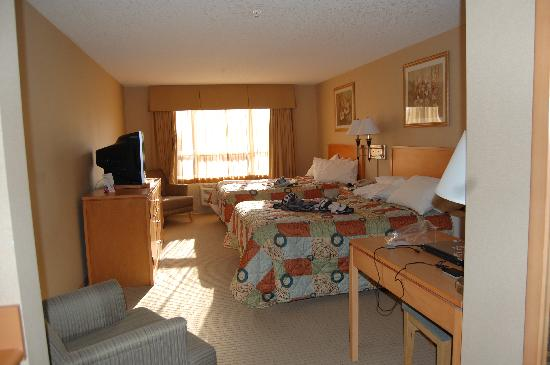 Ramada Nanaimo Inn: My room