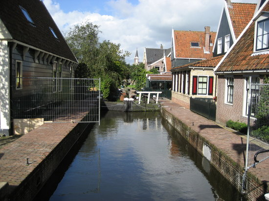 North Holland Province, The Netherlands: A lock in De Rijp