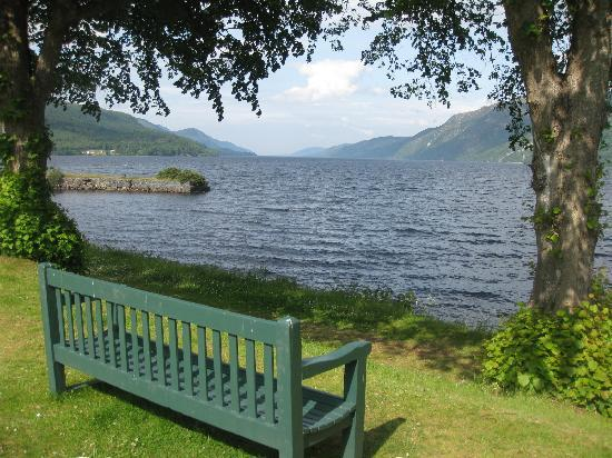 Fort Augustus, UK: View of Loch Ness from Highland Club