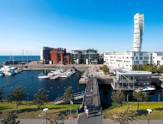 Malmö, Suecia: One of two harbors in the area