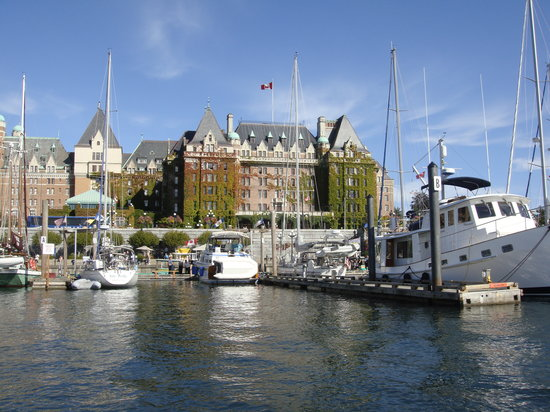 Victoria, Canad: The harbour