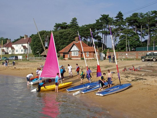 Bawdsey Quay Watersports Centre Woodbridge England Hours Address Sports Camp Clinic