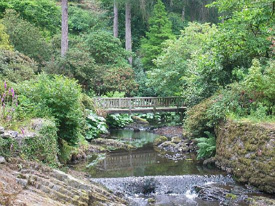 Betws-y-Coed, UK: Bodnant gardens