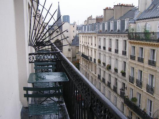 Hotel du College de France: Rm 54 - view from balcony (left)