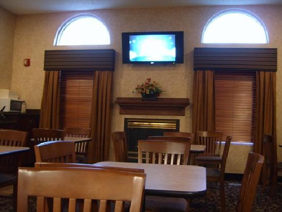 Kelly Inn Billings: Breakfast area