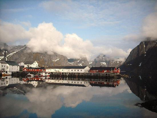 Lofoten Islands, Norvège : Scene at Reine