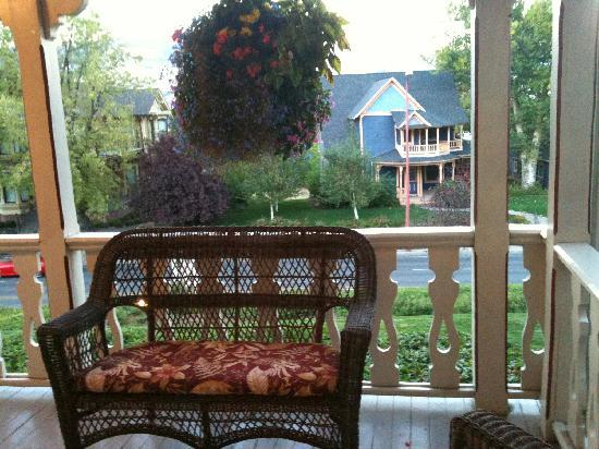 Coolidge House Bed and Breakfast: quiet solitude