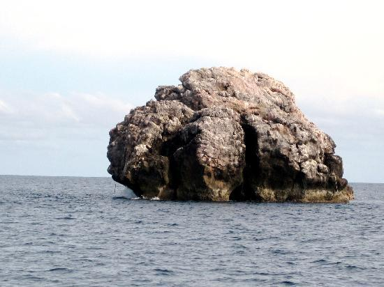 sail rock doesn t look like much  but a stunning dive