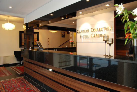 Clarion Collection Hotel Cardinal: reception