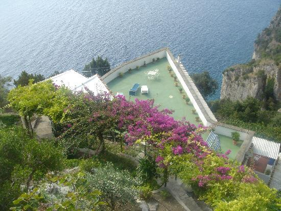 Villa Punta del Sole: View from the top , big balcony