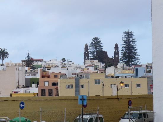 Las Palmas, Espagne : View of Galdar 