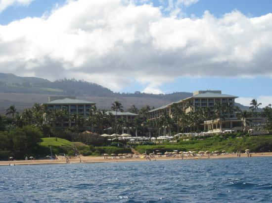 Four Seasons Resort Maui at Wailea: View from the Outrigger Canoe program
