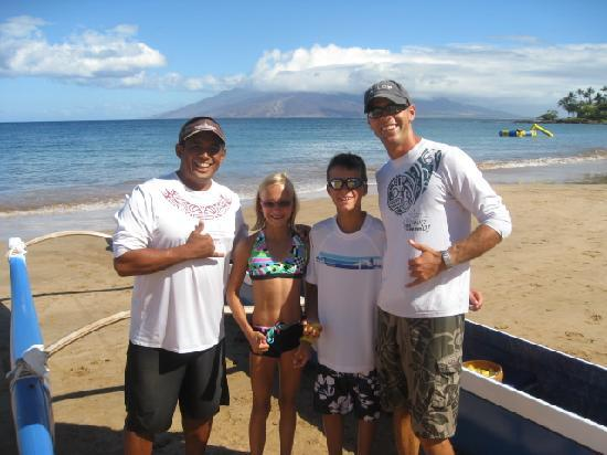 Four Seasons Resort Maui at Wailea: Don't miss the free Outrigger Canoe Program
