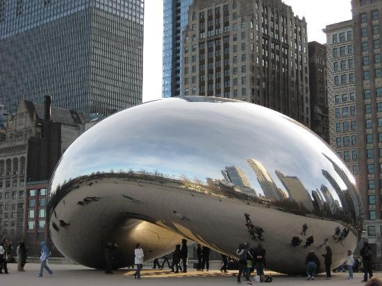 """Chicago, IL: Cloud Gate...also known as """"The Bean"""""""