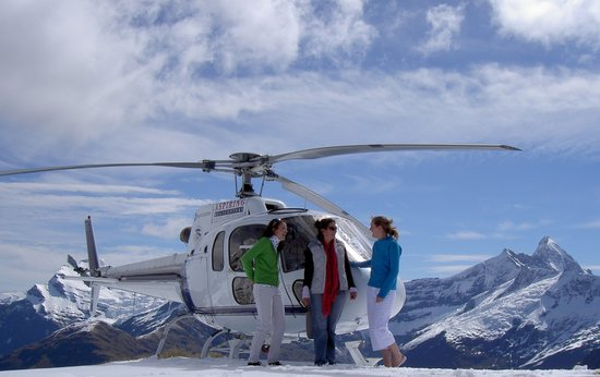 Aspiring Helicopters Scenic Flights