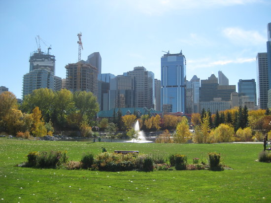 Calgary, Canad: downtown